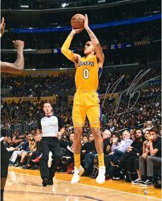 200be664a83 Kyle Kuzma Los Angeles Lakers Autographed 16