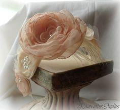 Wedding Headband Vintage Inspired   Emma   RainwaterStudios   $52.00