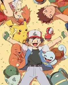 Pokemon l Anime Misty Pokemon, Pokemon Luna, All Pokemon, Cute Pokemon, Pokemon Trainer Ash, Pokemon Pokemon, Pikachu, Happy Show, Fanart