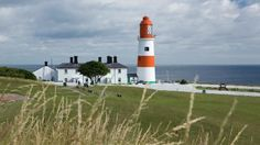 A sight for sore eyes © Roger Coulam Souter lighthouse Lighthouse Lighting, 7 Continents, North East England, Sore Eyes, Family Days Out, Water Tower, Light House, Sea Birds, Durham