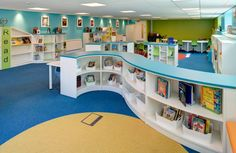 The Lidget Green Primary School | Demco Interiors - Inspiring Library Design