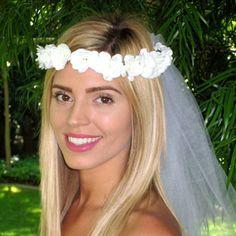 $4.29 (Buy here: https://alitems.com/g/1e8d114494ebda23ff8b16525dc3e8/?i=5&ulp=https%3A%2F%2Fwww.aliexpress.com%2Fitem%2FNewest-2016-Women-Wedding-Rose-Flower-Wreath-Headband-Kids-Party-Floral-garlands-Adjustable-Flower-Crown-Hair%2F32665538375.html ) Newest 2016 Women Wedding Rose Flower Wreath Headband Kids Party Floral garlands Adjustable Flower Crown Hair Accessories 1 PC for just $4.29