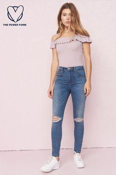 7bd9b8ce9eae 295 Best Garage ♥ Denim images in 2019 | Mom jeans, Girlfriend ...