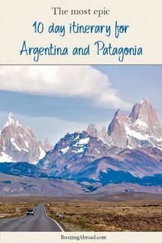 When mapping out an itinerary for Argentina, there are several things to take into account, including the time you have and what activities you'd like to do. As the eighth-largest country in the world, it's no surprise that Argentina has a little bit of everything for every traveler. It just might take you weeks, or even months, to see it all because of the size of the country! #argentina #visitargentina #patagonia #hiking #patagoniahiking #itineraryforargentina #argentinaitinerary