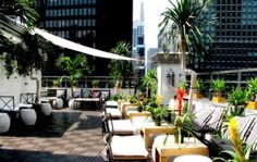 Have a girls night out on top of the world!! Check out one of NYC's many rooftop bars -- Ava Lounge!