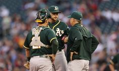 Once-deep Athletics rotation hurting = Going into spring training, the Oakland Athletics were planning on having a young, healthy and promising starting rotation. Sonny Gray, Jesse Hahn, Kendall Graveman, Chris Bassitt and Rich Hill were supposed to lead the.....