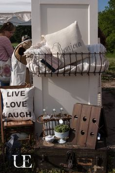 Unexpected Elegance Booth at The Vintage Farmhouse Spring Market (1 of 1)-4