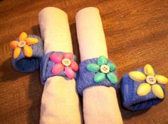 Roots of Simplicity: Colored Pistachio Art and Napkin Rings: Craft of the Week - Part 2