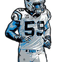 Luke Kuechly Carolina Panthers NFL