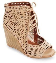 a5ea284a0025 Women s Jeffrey Campbell Rayos Perforated Wedge Sandal Affiliate Jeffrey  Campbell Sandals