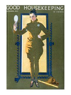 Old Magazine Covers - 1910s Vintage Magazine Art - Good Housekeeping###slide-1#slide-1