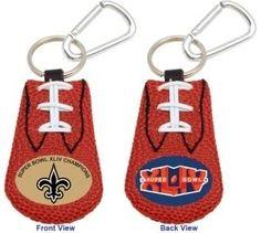 New Orleans Saints Football Keychain - Super Bowl 44 Champs Z157-4421403079