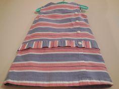 Size 23T Vintage Toddler girl Mod Retro Stripe by LittleMarin, $18.75