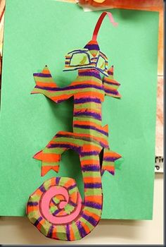 do w/ 2nd grade when they read the mixed up chameleon! from smART class blog