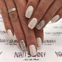 Nail art design , mismatched nail art design ideas #nails #nailart #pinknails