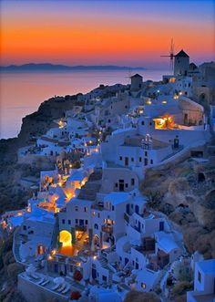Oia, Santorini sunset