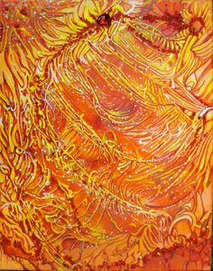 Brilliant Sparkling Painting Light and Energy by JudiCainArtist, $135.00