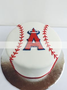 Angels baseball cake | Cakes and More by Nora