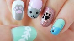 Kitty Cat Nail Tutorial