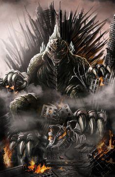 Awesome Godzilla 2014 fan art