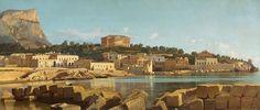 Francesco Lojacono  (Palermo, 16 maggio 1838 – Palermo, 28 febbraio 1915) Veduta di Acquasanta, Palermo