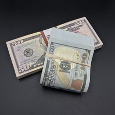 Brand New Set Of Dollar Bill Play Money Looks Very Real - Make a fake bill online