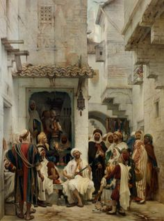 Французский художник-ориенталист Guillaume Charles Brun (1825 – 1908, French) | Записи AЯT (Искусство) | УОЛ