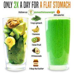 Vegan Smoothie Recipes, Smoothie Diet Plans, Smoothie Detox, Diet Recipes, Weight Loss Juice, Weight Loss Smoothies, Weight Loss Drinks, Healthy Juices, Healthy Drinks