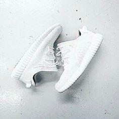 Adidas Yeezy 350...All White 'iddish !