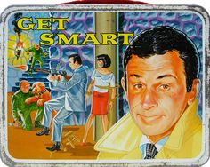 Get Smart NBC; CBS) starring Don Adams as 'Maxwell Smart' — vintage lunch box Lunch Box Thermos, Vintage Lunch Boxes, Cool Lunch Boxes, Metal Lunch Box, Creepy Guy, School Lunch Box, Whats For Lunch, Retro Toys, 70s Toys
