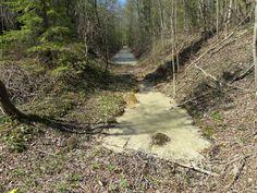 Põlevkivimaa - Küttejõu / Oil Shale mining area in Estonia by Retked
