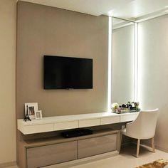 22 Trendy Living Room Ideas With Tv Dressers Tv In Bedroom, Couple Bedroom, Home Decor Bedroom, Living Room Tv, Room Inspiration, House Design, Art Interiors, Wrap Jumpsuit, Room Ideas