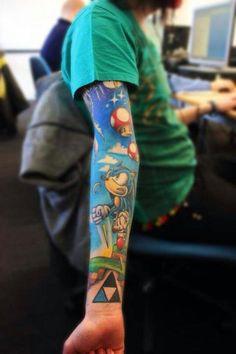 #Nerd #tattoo, I love it!