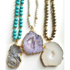 Handcrafted in Dallas, Texas, @TaylorCusterJewelry finds beautiful gemstones and turns them into fun, colorful works of art you can wear everyday! Love! Shop: TaylorCuster.com #TaylorCuster #Jewelry #Necklace #Gemstones #MadeInTexas #ShopSmall #Handmade