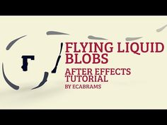 Flying Liquid Teardrop Blobs - Adobe After Effects tutorial - YouTube