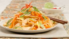 Chicken Pad Thai - Recipes - Best Recipes Ever - Air-chilled chicken has less moisture than chicken conventionally cooled in water during processing. Though more expensive by weight, air-chilled chicken shrinks less during cooking and has superior flavour and texture....