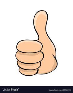 Hand thumb up cartoon symbol icon design Vector Image Body Preschool, Preschool Math, Abacus Math, Easy Plants To Grow, Numbers Kindergarten, Cute Cartoon Pictures, Cute Wallpapers Quotes, Funny Emoji, Life Hacks For School
