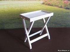 Tray Table and many more miniature tutorials