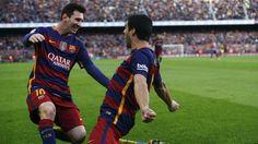 Messi e Suárez, Barcelona x Atletico de Madrid Campeonato Espanhol 2016 (créditos: Reuters)