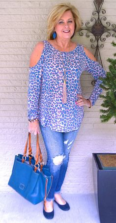 50 IS NOT OLD | COLD SHOULDERS AND FRAYED HEMS