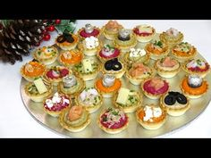 Tapas, Hummus, Canapes, Mini Cupcakes, Buffet, Cheesecake, Food And Drink, Desserts, Youtube