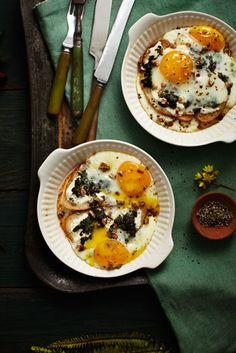 Baked Eggs / a.farnum