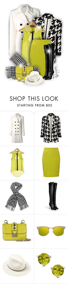"""""""Lime"""" by pinkroseten ❤ liked on Polyvore featuring Gucci, River Island, Blumarine, Barbour International, Sergio Rossi, Valentino, GlassesUSA, rag & bone, women's clothing and women's fashion"""