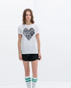 Image 1 of PRINTED T-SHIRT from Zara