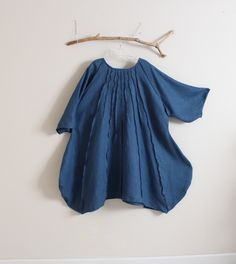 """60"""" bust room pleated vase bonnot linen dress by annyschooecoclothing"""