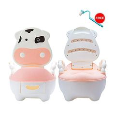 Blue Suit Toddlers Baby Girls Boys. Kids Toilet Trainer,Laoyel Potty Toilet Trainer Seat with Step Stool