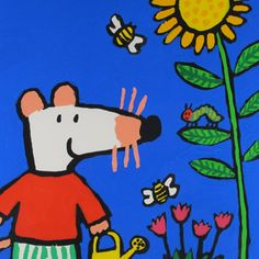 Lucy Cousins' Maisy Mouse meets Eric Carle's Very Hungry Caterpillar!