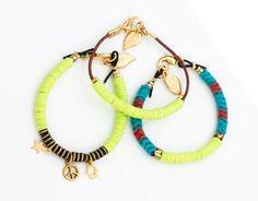 Yellow Tradebead Bracelet