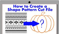 One of our favorite projects lately has been designing new cut files, especially when it involves new and interesting pattern shapes. While browsing Facebook, I've seen an overwhelming amount of these Aztec design pumpkins, with and without monograms. In addition, I've received a ton of questions on how to make them (and other filled shapes), so here I am to …