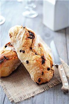 Pan con pepitas de chocolate